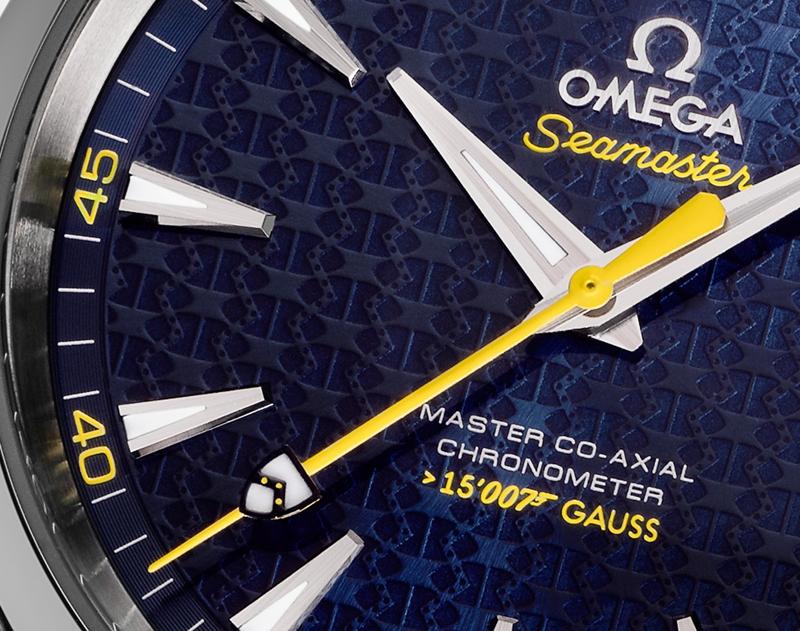 Omega Seamaster Aqua Terra James Bond Spectre