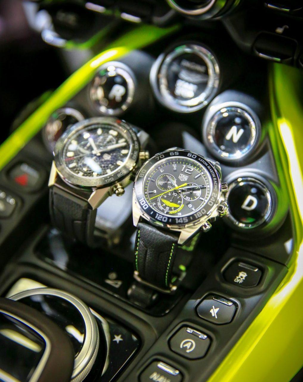 TAG Heuer a lansat primele cronografe Aston Martin Special Edition