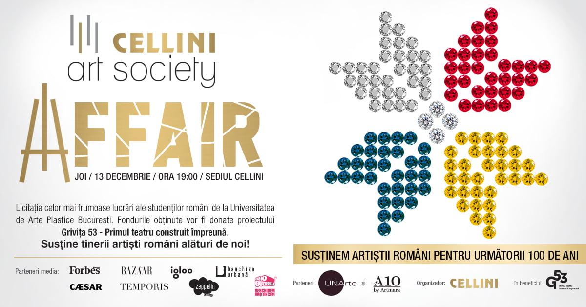 Cellini Art Society Affair – Sustine arta pentru urmatorii 100 de ani!