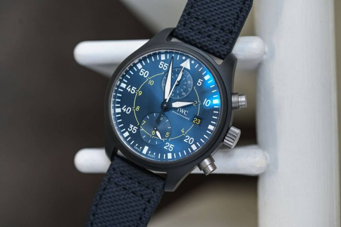 IWC Pilots Watch-Chronograph-Edition-Blue-Angels