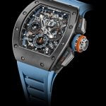 Richard Mille materialul Cermet gri