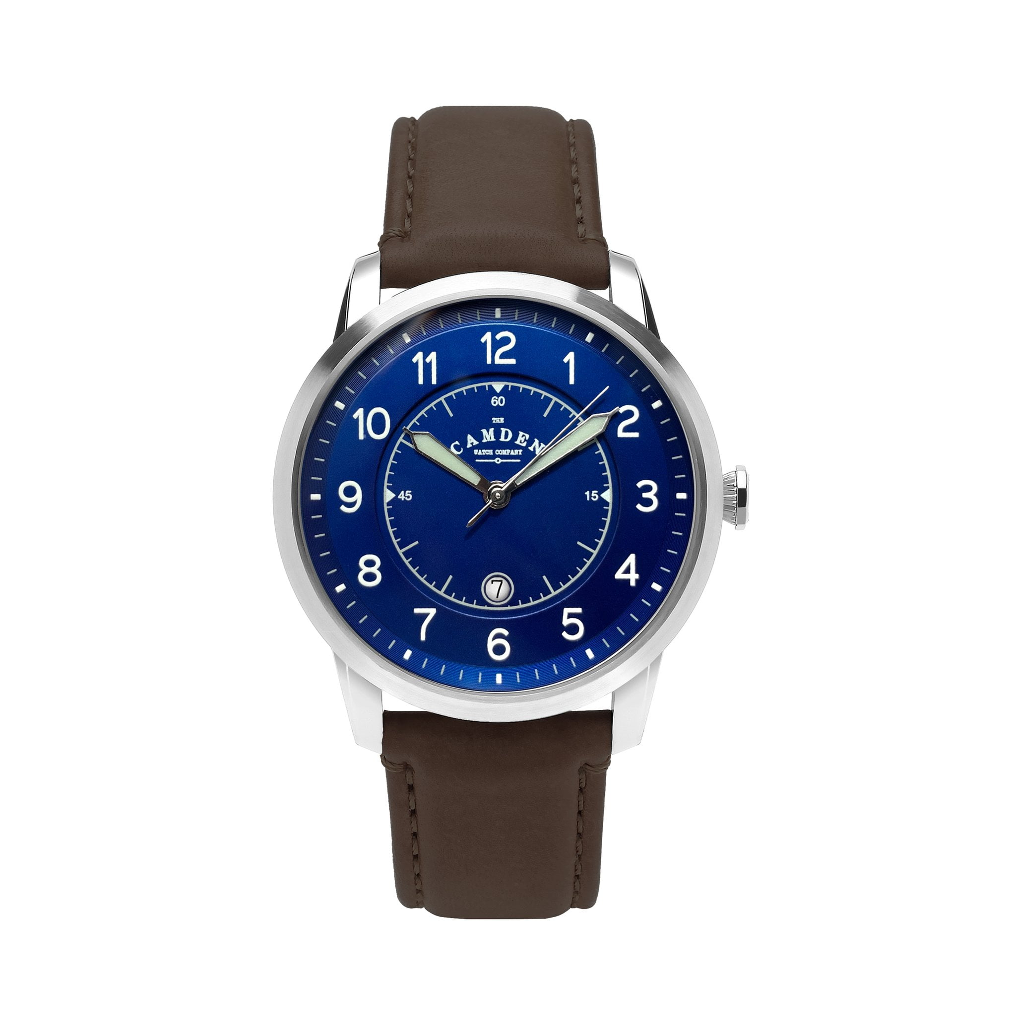 Camden Watch no 29 Type II Steel navy and brown