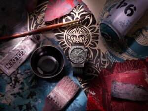 Hublot Classic Fusion Chronograph Shepard Fairey Limited Edition