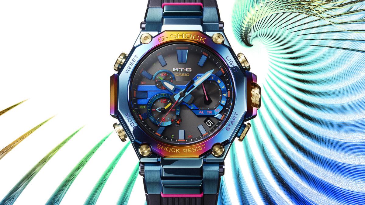 Casio G-Shock Blue Phoenix