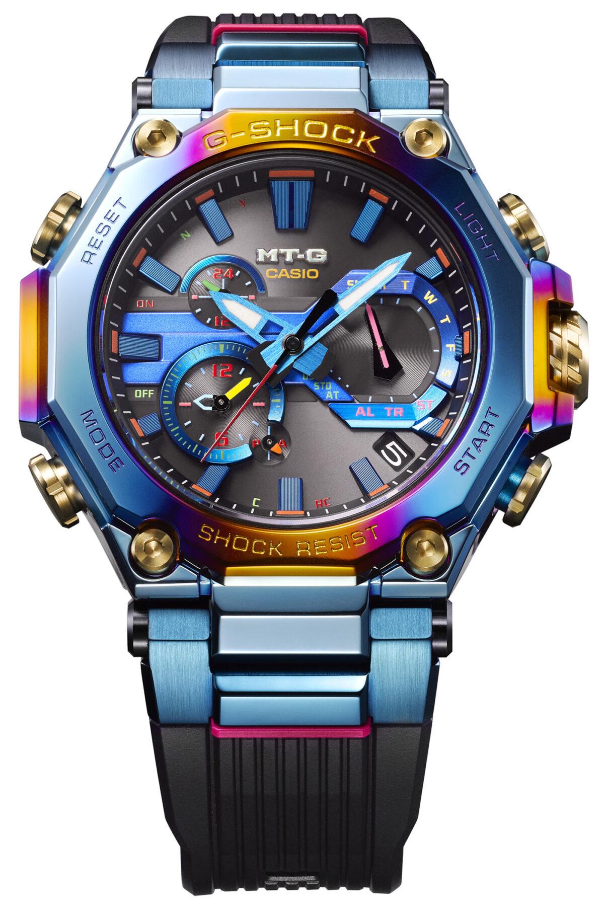 Casio G Shock Blue Phoenix3